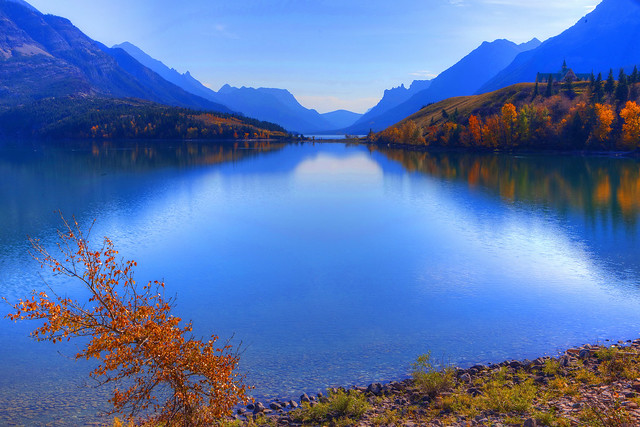Upper Waterton Lake, Warerton Lakes National Park, Alberta