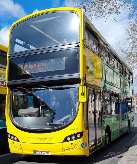 Dublin Bus SG 333 NTA livery