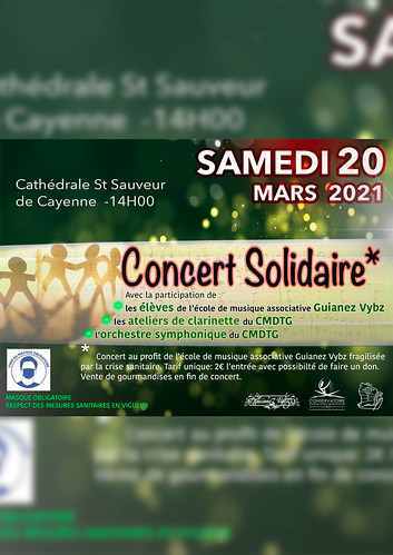 Concert solidaire (20/03/2021)