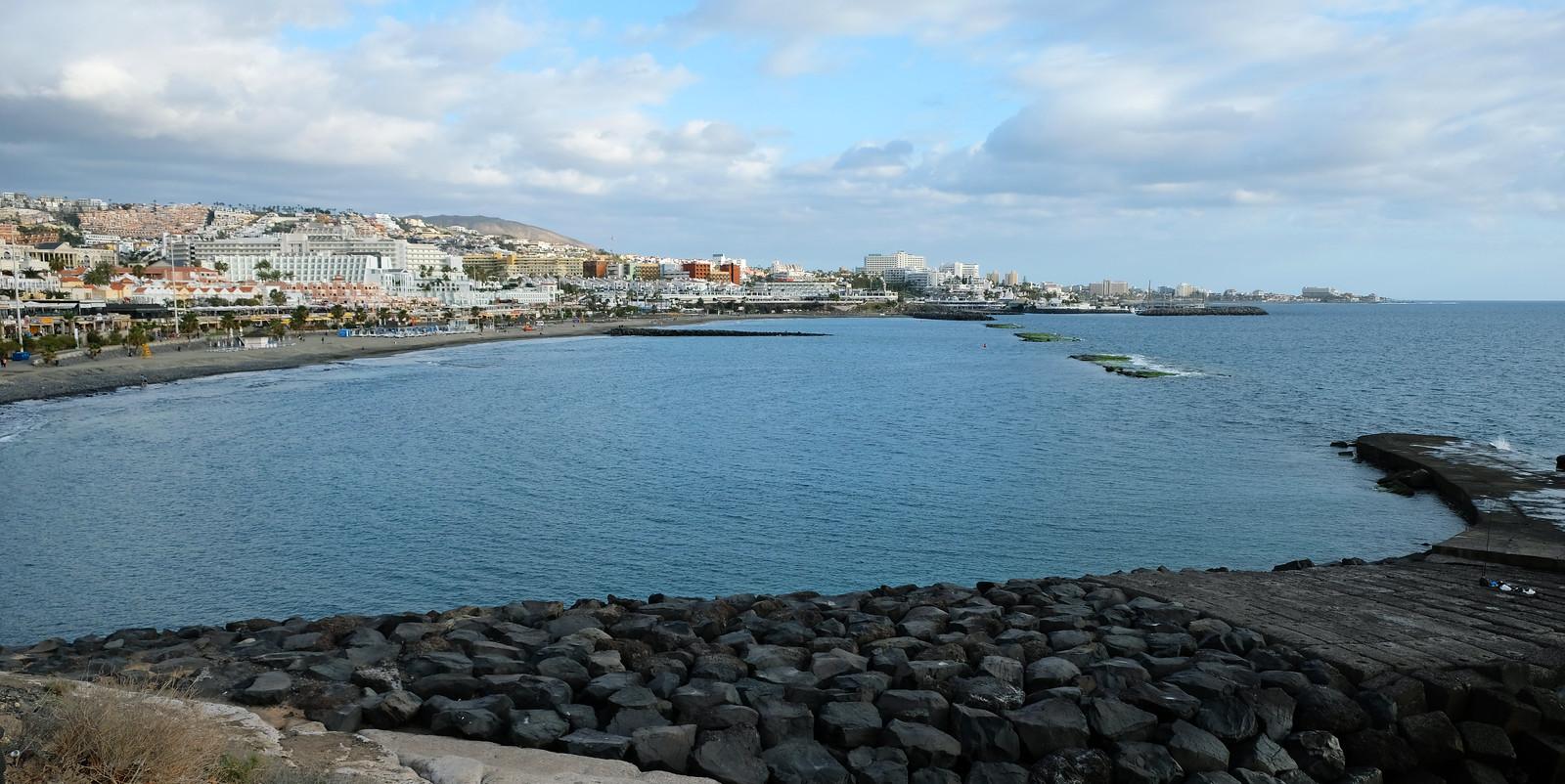 Fañabé Beach, Tenerife, Canary Islands, Spain