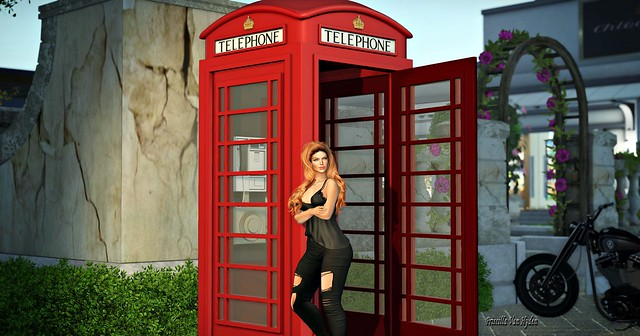 {Bob} Magic Telephone Booth (Multi LM) / .::Chloe Poses::. - Waiting for you