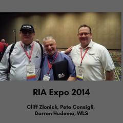 Cliff Zlonick, Pete Consigli,  Darren Hudema, WLS