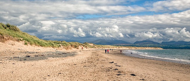 Snowdonia viewed from Anglesey