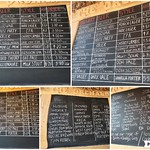 A selection of past drink menus from The Orchard bar at Preston Market