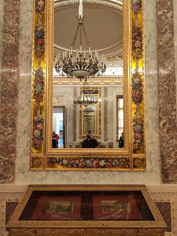 Санкт-Петербург - Михайловский замок - Зеркало с орнаментом