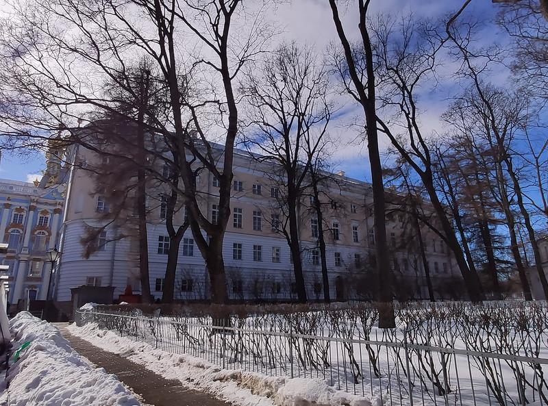 Царское село (Пушкин) - Бывшее здание Царскосельского лицея