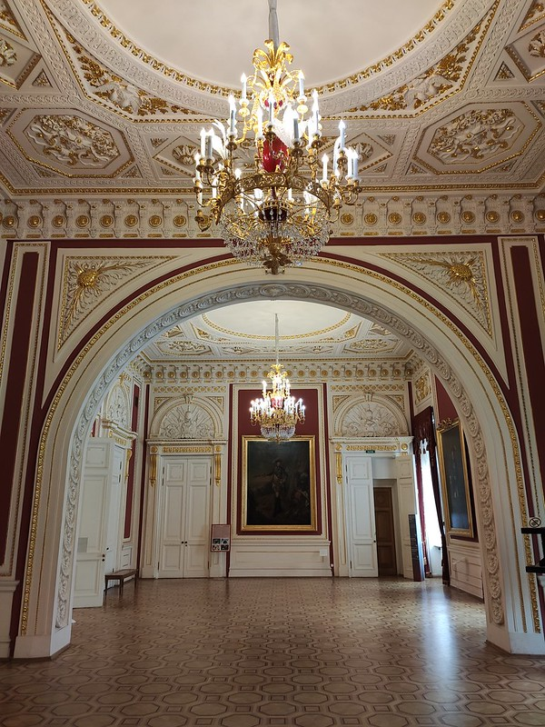 Санкт-Петербург - Михайловский замок - Тронный зал