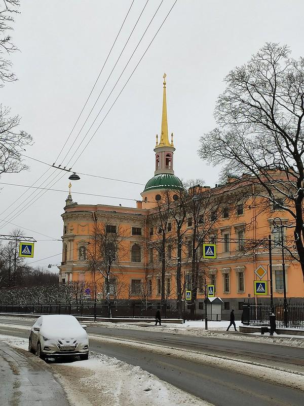 Санкт-Петербург - Шпиль Михайловского замка
