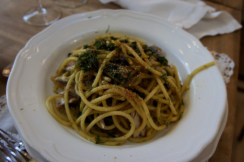 Spaghetti sarde