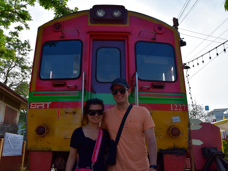 Maeklong Railway train
