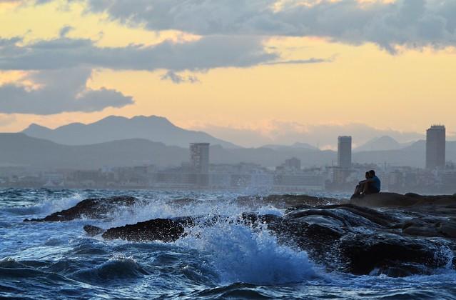 Tempestad en el mar 🌊🌊