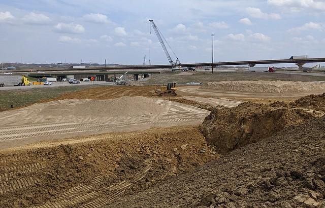 I-80/I-380 construction