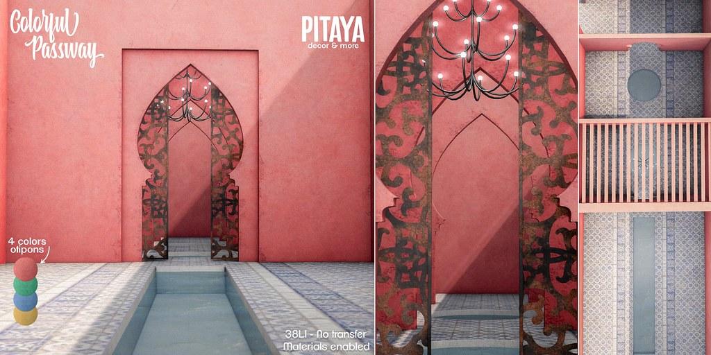 Pitaya – Colorful Passway @Access