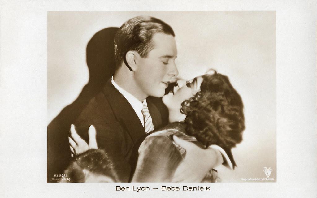 Ben Lyon and Bebe Daniels in Alias French Gertie (1930)