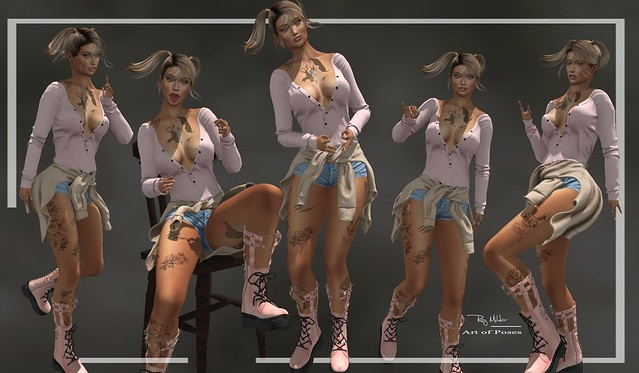 RM ~ Art Of Poses ~ GIRL PACK II plus Bonus