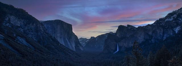 Yosemite Valley at Sunrise....