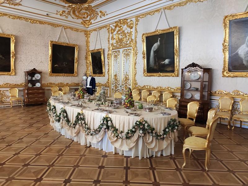 Большой Екатерининский дворец - Обеденный зал