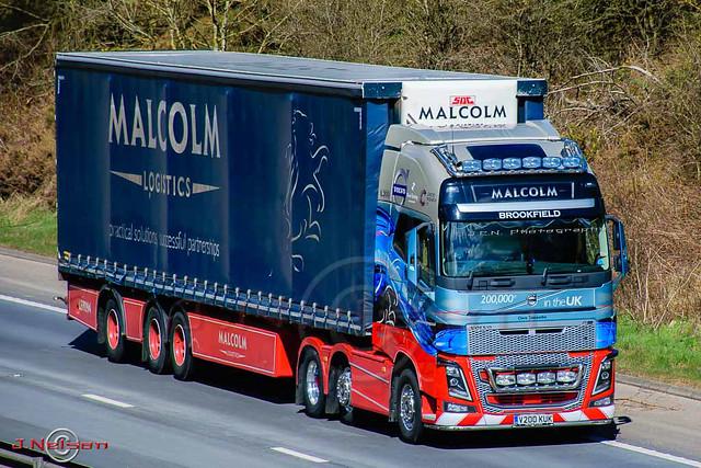 Malcolm's Volvo FH16.