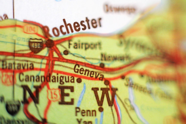 Can You Find Rochester on a Map?