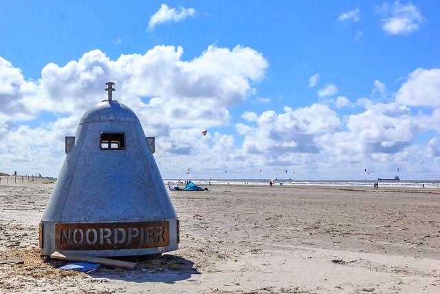 UFO's on the beach?