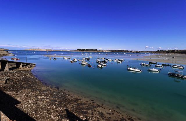 Dinard, vue sur Saint-Malo