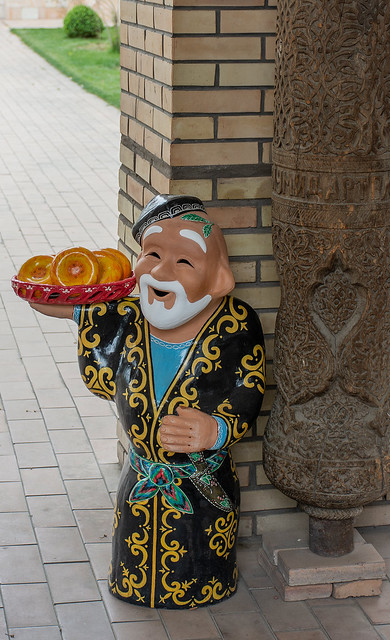 souvenir uzbekistan  funny old man