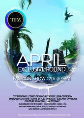 TFZ EXCLUSIVE APRIL SHOW