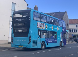 Arriva North East 7544 YX17 NNR (10-04-2021)