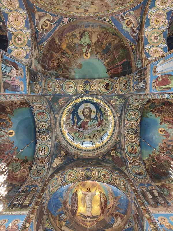 Санкт-Петербург - Спас на Крови - Потолочные росписи