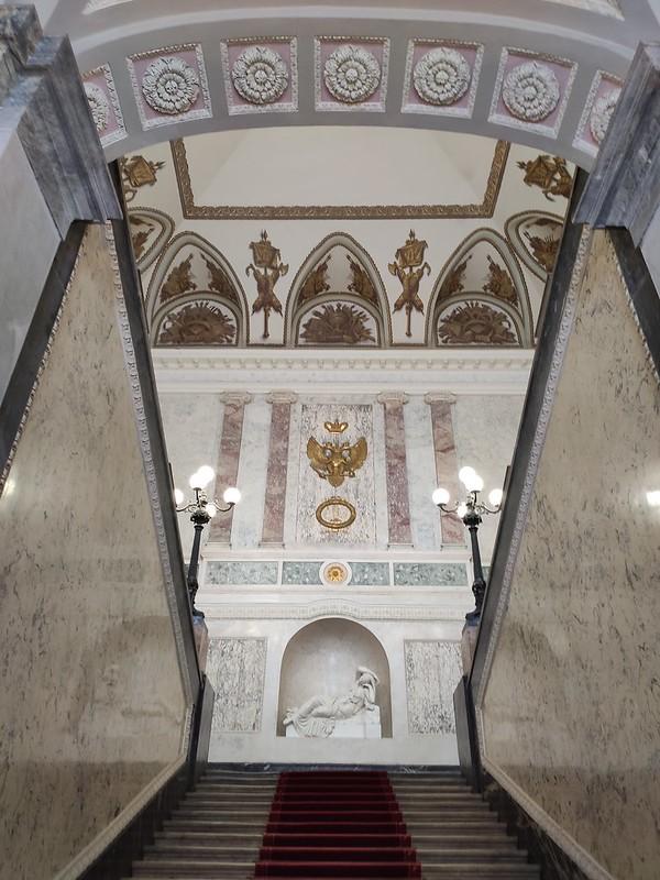 Санкт-Петербург - Михайловский замок - Парадная лестница