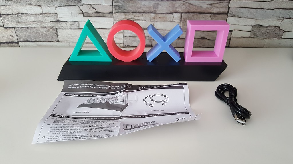 PlayStation Icons Light, AliExpress