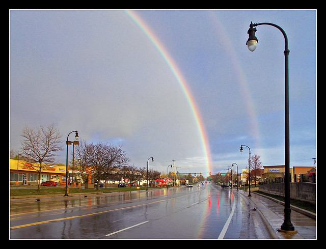 Another Look at Our Rainbow Last Sunday Evening