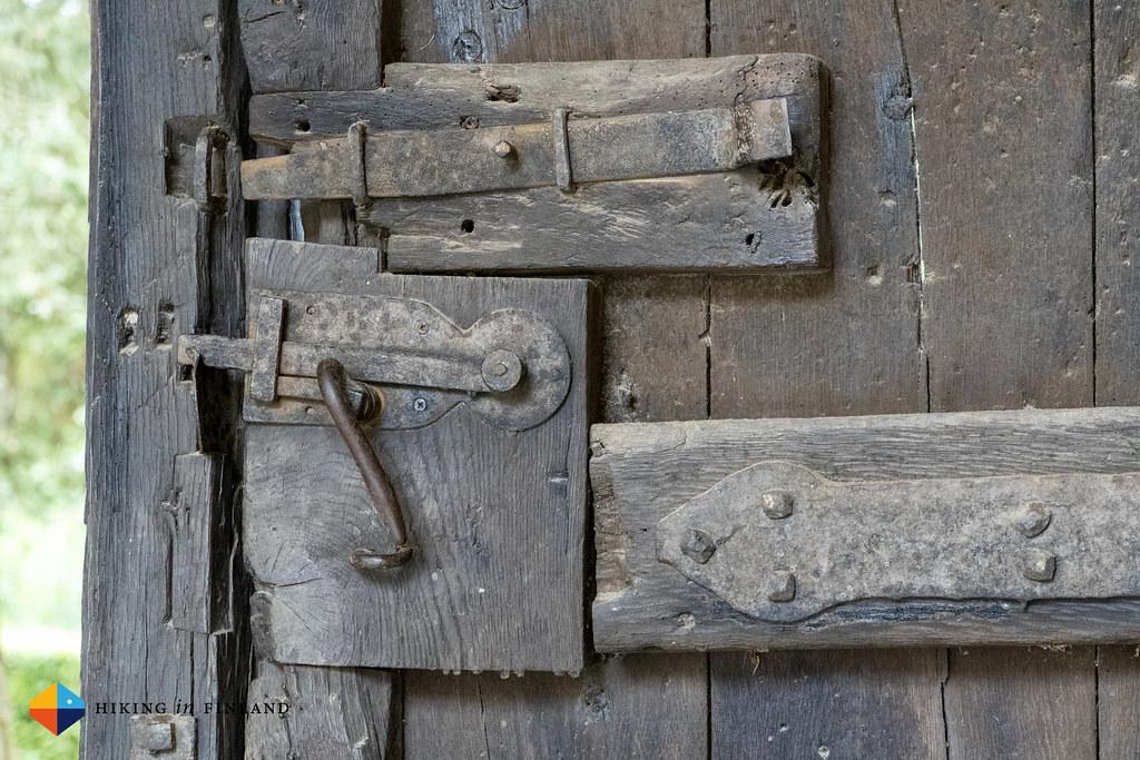 Lock at Beaufort Castle