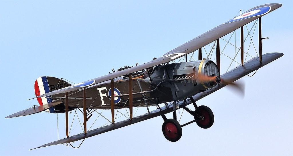 Bristol F.2B Fighter G-AEPH B1162