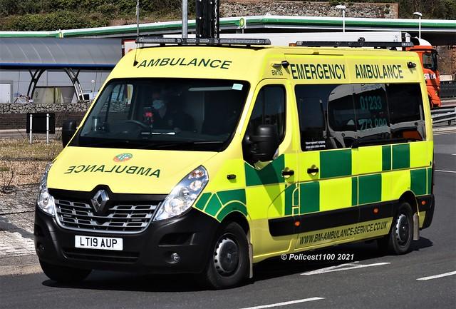 BM Ambulance Renault Master LT19 AUP