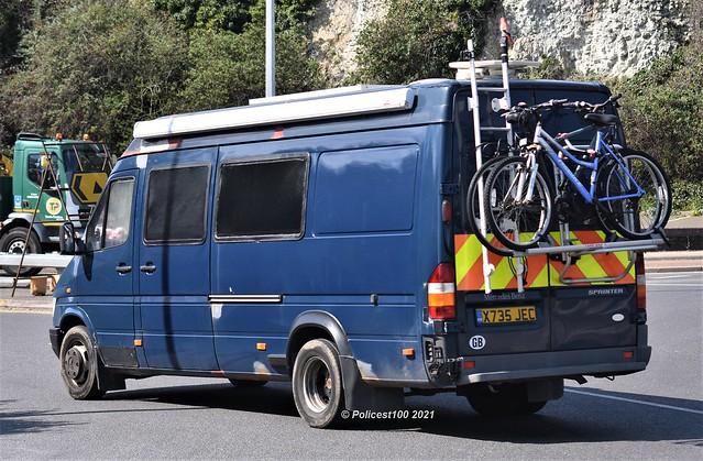 Ex Lancashire Constabulary Mercedes Sprinter X735 JEC