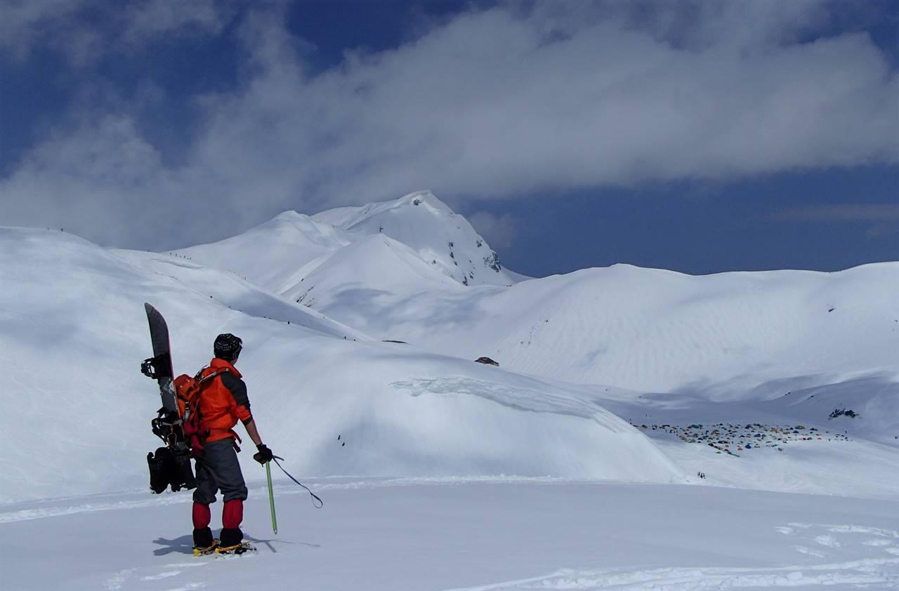【北アルプス】冬の立山連峰 雪山登山