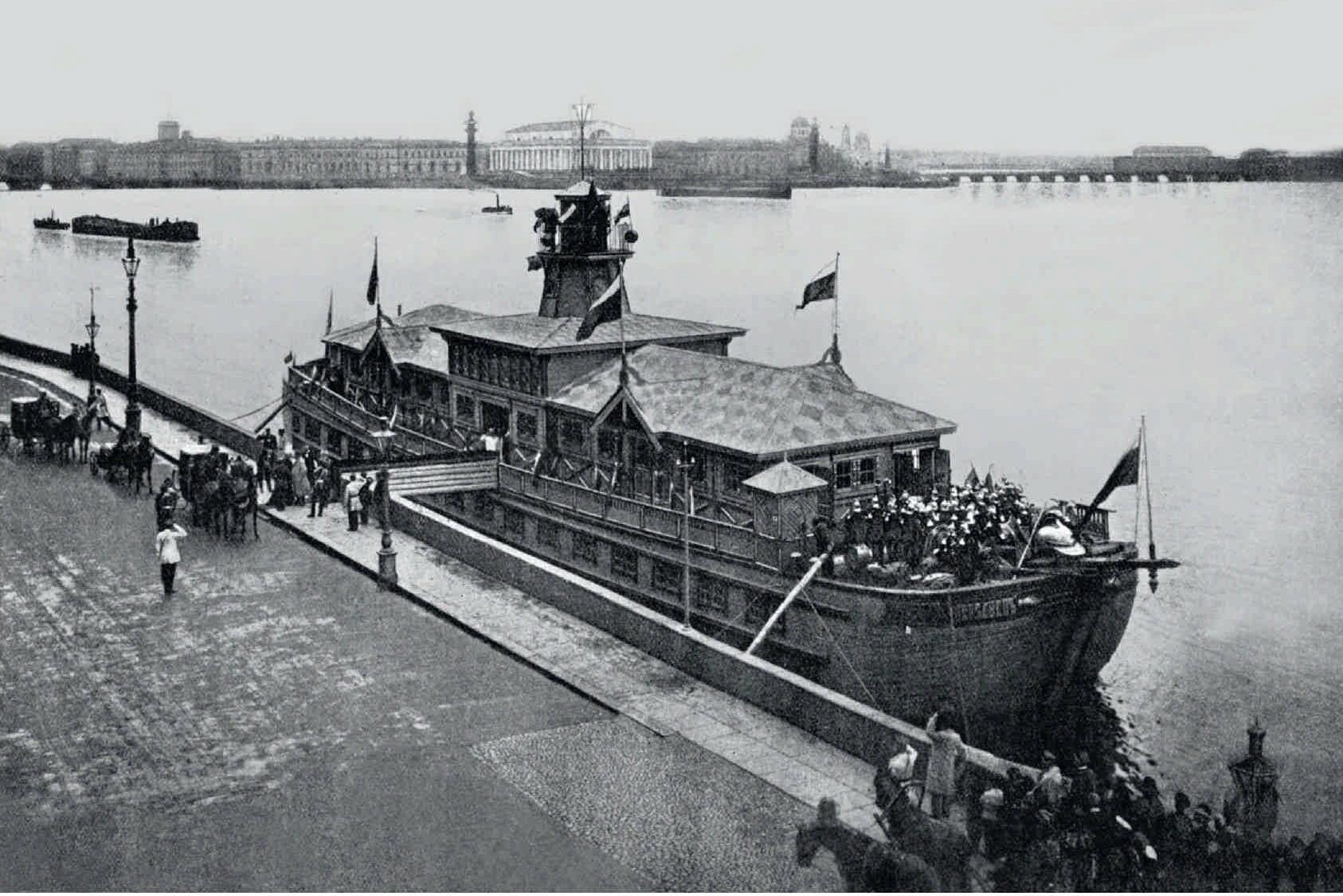 1897. Передвижная пожарная выставка у Дворцовой набережной