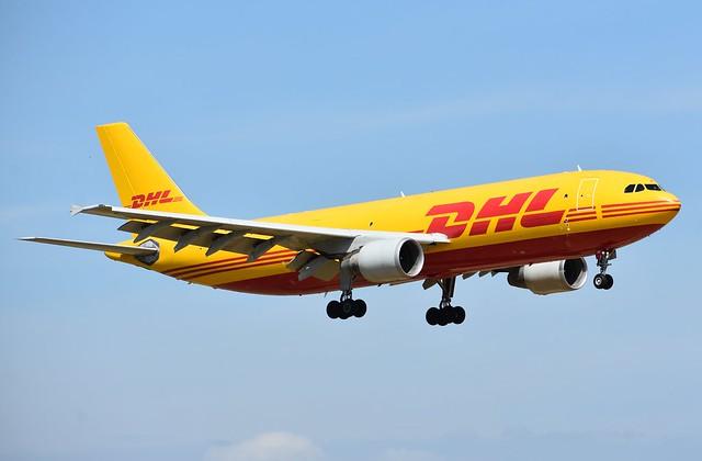 AIRBUS A300B4-622R(F) (MSN 617) EUROPEAN AIR TRANSPORT-DHL (D-AEAD) AEROPUERTO DE SEVILLA (SVQ / LEZL)