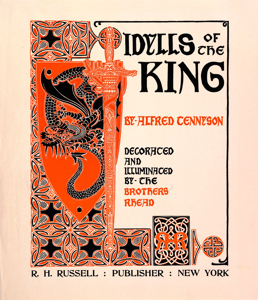 RHEAD. Idylls of the King by Alfred Tennyson.