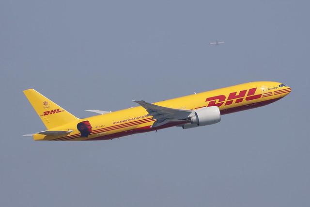 D-AALL, Boeing 777F, Aerologic/DHL