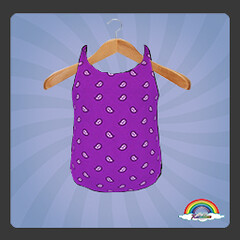 ((RBS)) Bandanas (Purple) Swimsuit