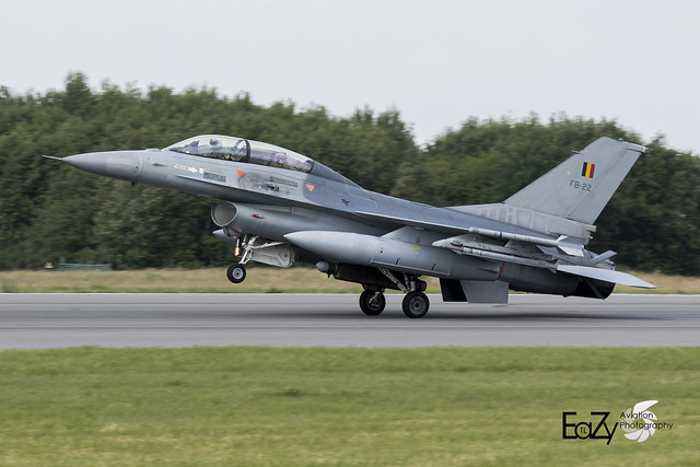 FB-22 Belgium Air Force SABCA F-16BM Fighting Falcon