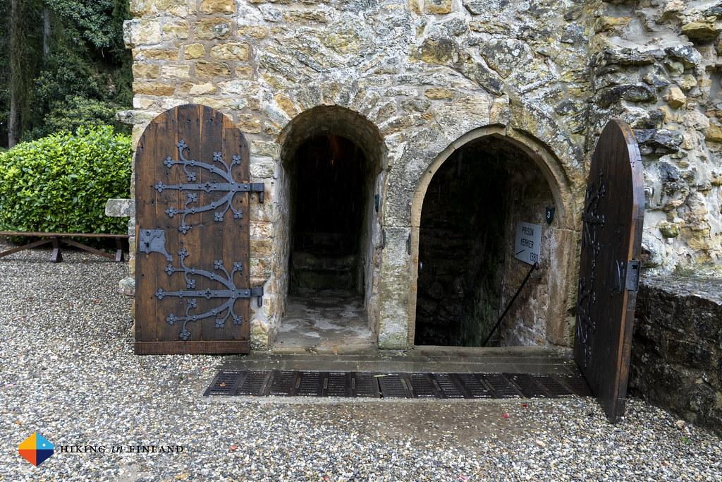 Doors at Beaufort Castle