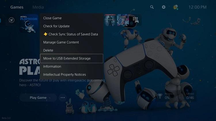 PS5 sistem yazılımı güncellemesi