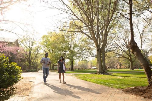 Spring Break Day 5: Walking the brick pathways