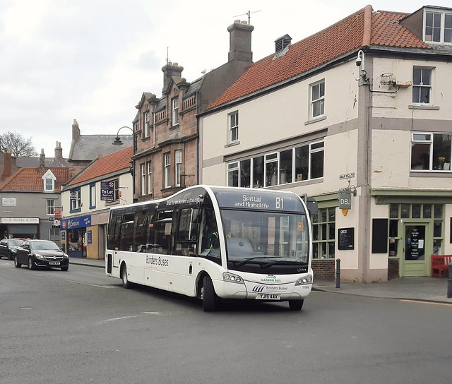 Borders Buses Optare Solo SR YJ15AAX 11503