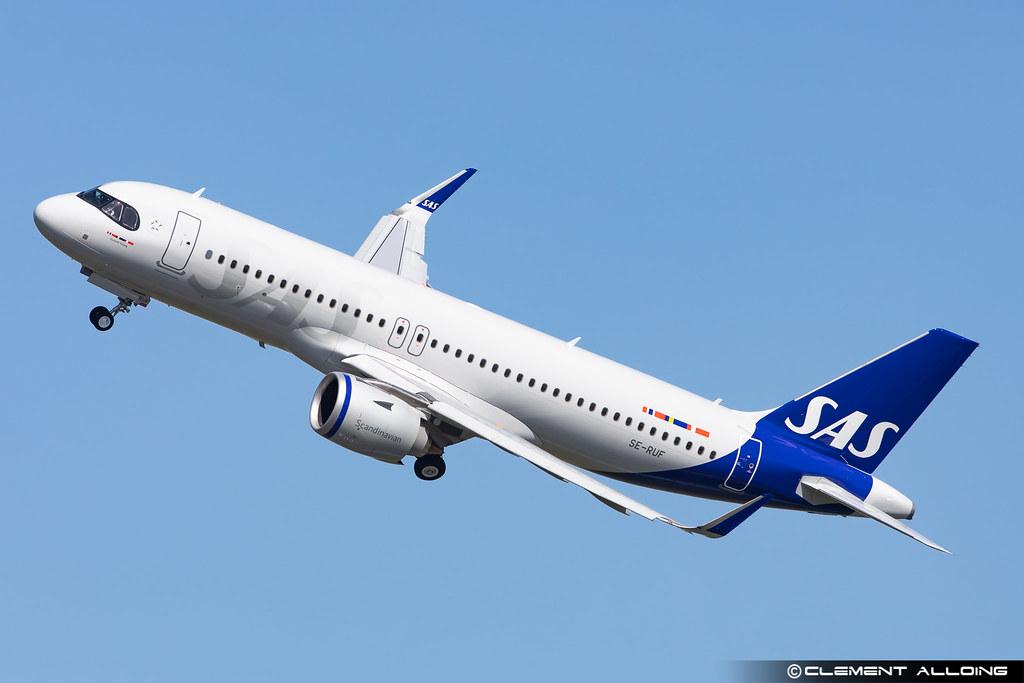 SAS Scandinavian Airlines Airbus A320-251N cn 10265 SE-RUF
