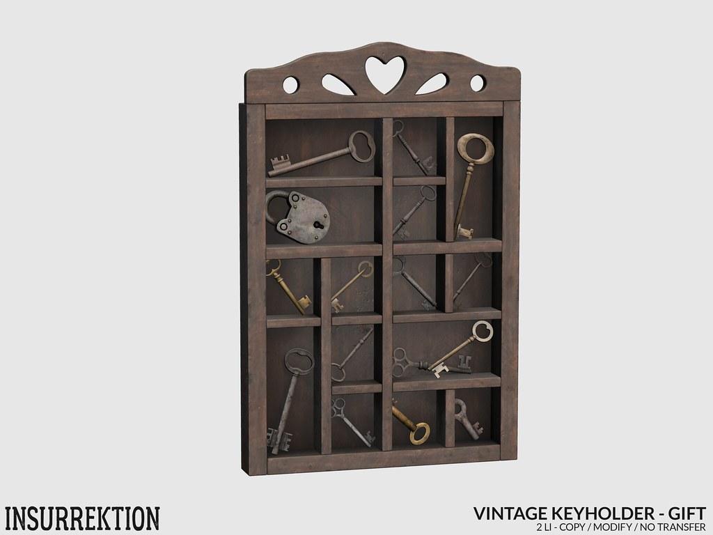 [IK] Vintage Keyholder AD