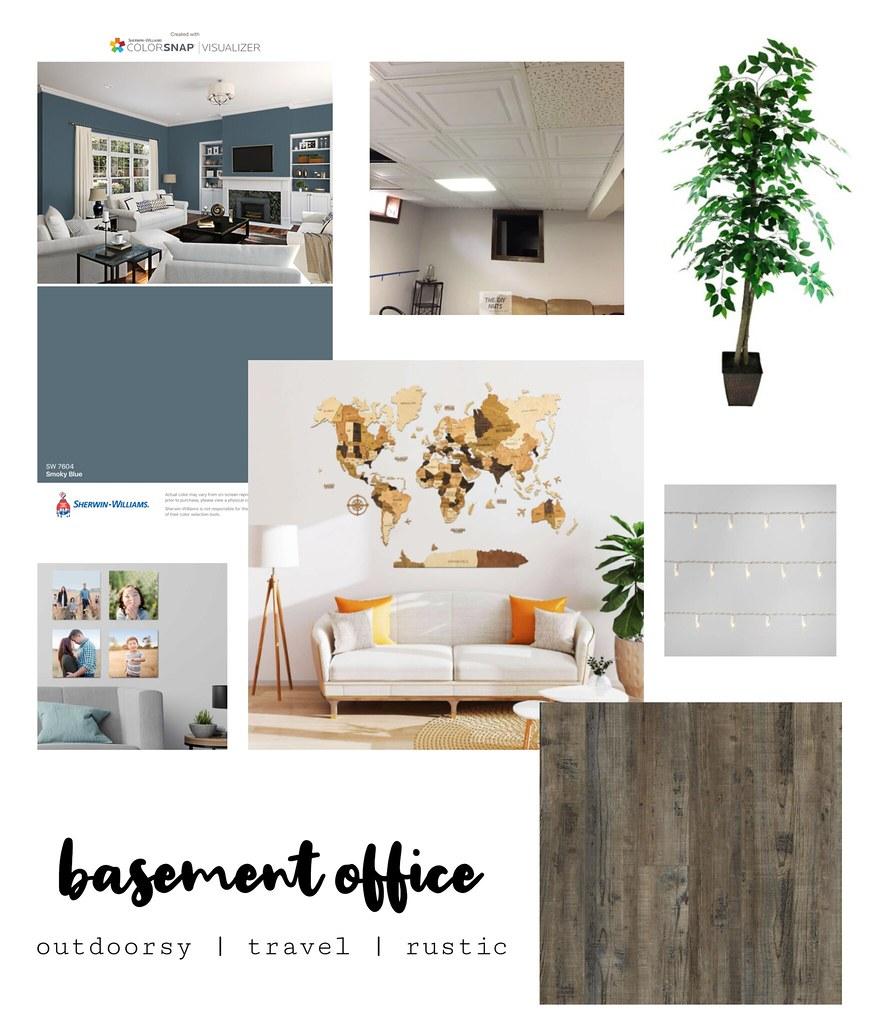 Basement Office Plans
